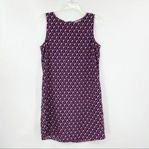 HALOGEN Sleeveless Shift Dress, Lightweight